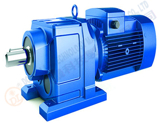 Horizontal gear motor...