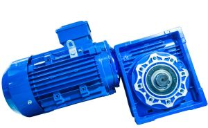 Nmrv Series Worm Gearbox Geared Motor with Output Shaft
